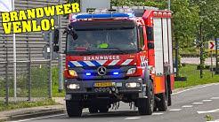 [BRANDWEER VENLO] - Rüstzug der Feuerwehr Venlo rückt aus zu einem Arbeitsunfall!