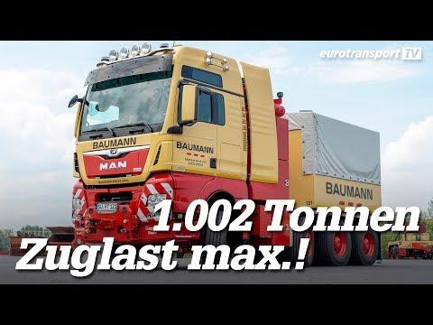 MAN TGX 41.640 8x6: Der Stärkste Lkw Deutschlands