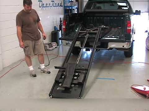 Demo of the Rampage Power Lift for Motorcycles