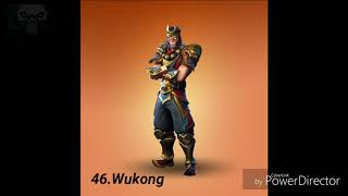 Ranking all legendary skins in fortnite from worst to best!