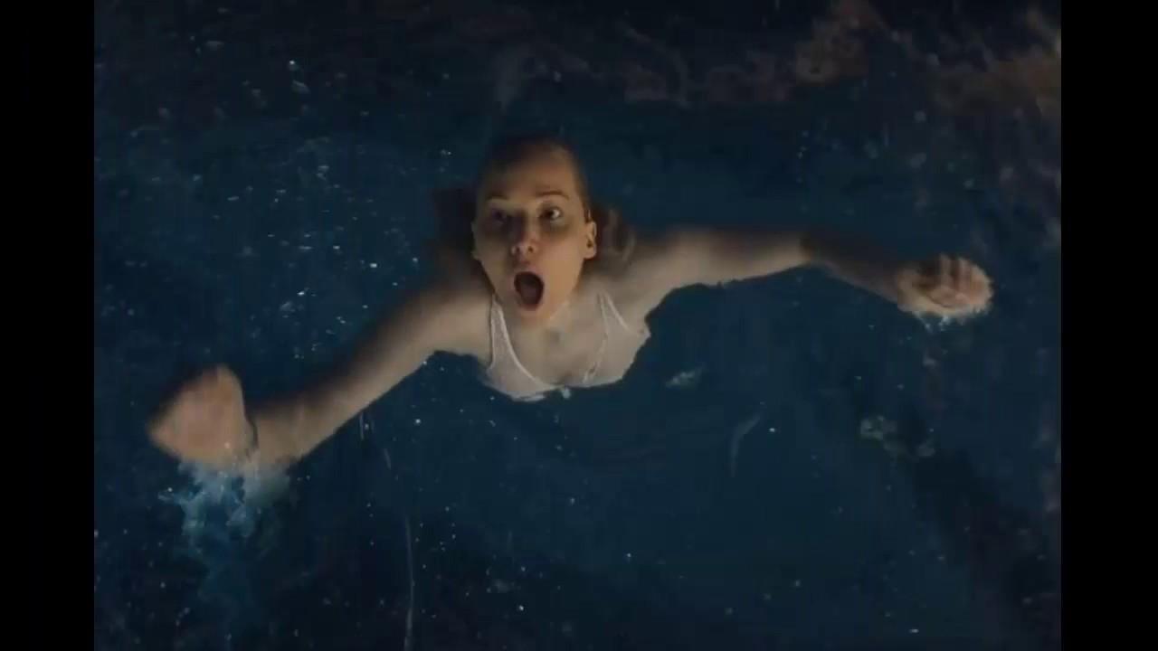 jennifer lawrence has a dangerous swim in first