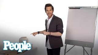 can tom riley da vincis demons star draw? people