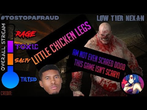 LTG/Low Tier God getting spooked like crazy in Outlast & how he had sex at 17 yrs old (+Bonus)
