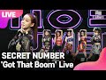 LIVE SECRET NUMBER 시크릿넘버 'Got That Boom' Showcase Stage 쇼케이스 무대JINNY,LEA,DITA,DENISE통통TV