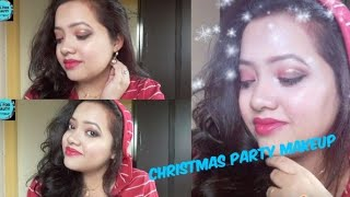## Christmas Party Makeup tutorial 🎄🎄## All for Beauty With Piyali