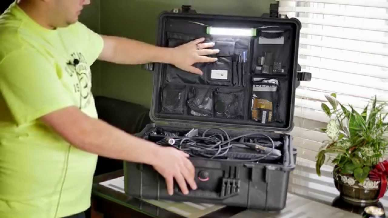 Pelican 1600 004 110 Case With Padded Dividers Youtube