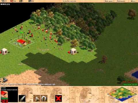 1x1 AOE RM Rev - KGB_Crazy vs UnbrokeN ( puma ) - Age of Empires 1  - game 2