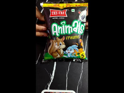 Try-Vry Animals Fryums#shorts