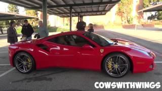 Ferrari 488 GTB Walk around and Drive By