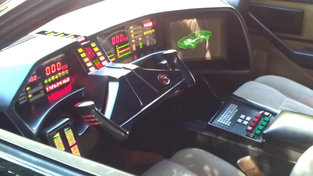 Knight Rider Pontiac Trans Am Cars Talking To Each Other