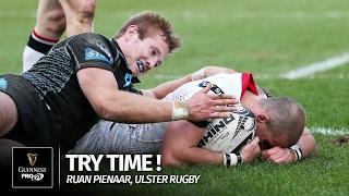 Ruan Pienaar - Incredible try versus Glasgow Warriors!