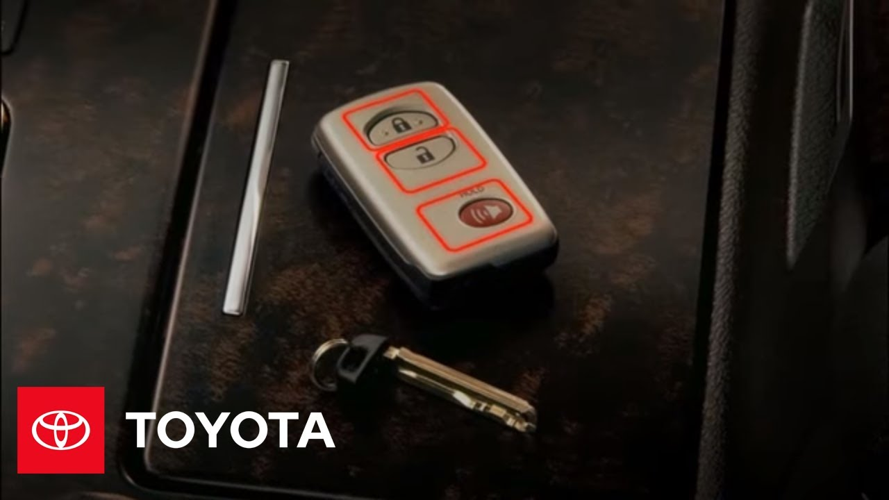 2009 land cruiser how to smart key overview toyota [ 1280 x 720 Pixel ]