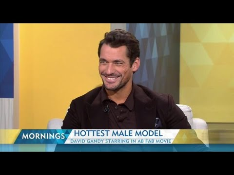 David Gandy on Mornings9 Australia (16/10/2015)