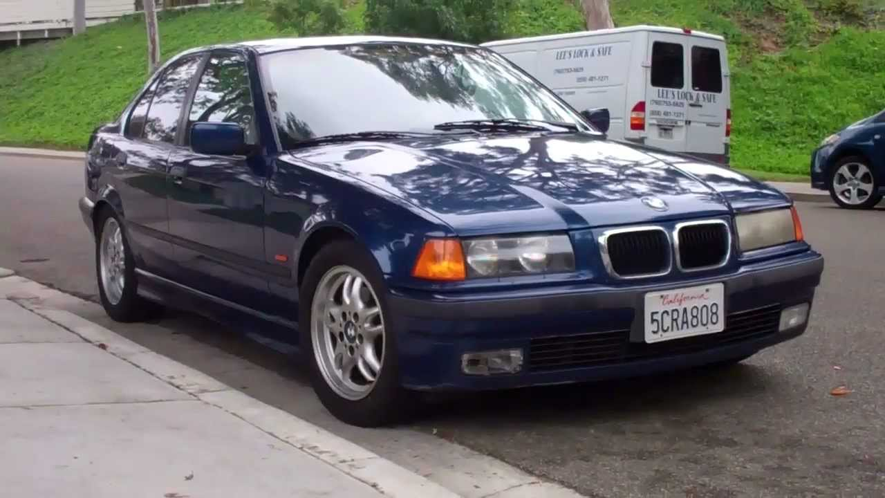 1998 Blue BMW 328i SOLD!   YouTube