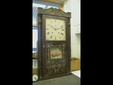 Eli Terry Wood Movement 8 day Mantel Clock Repair Preview