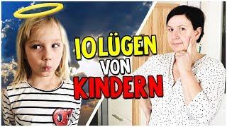 TOP 10 LÜGEN, die Kindern ihren Eltern erzählen 😇 😈 10 Lügen, die jeder kennt! Kleine Familienwelt