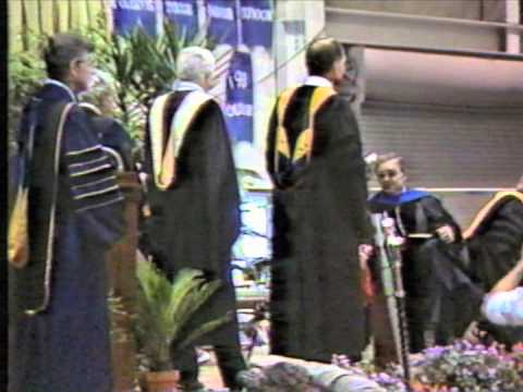 Fredonia Commencement 1986