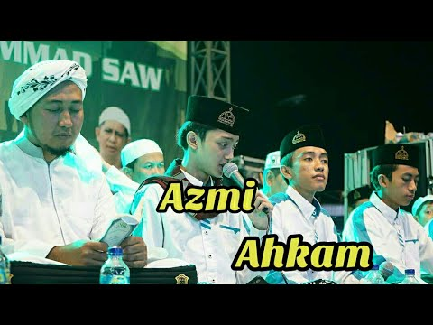 Azmi & Ahkam Syubbanul Muslimin - Ahmad ya habibi Live Gersik  2019