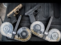 watch he video of Dual Wielding Full Auto Glocks W/ 100 Round Drum Mags