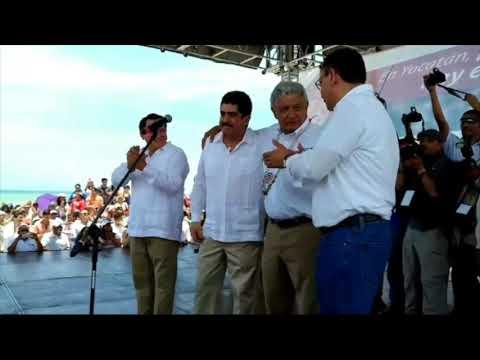 Manuel Espino se suma a la campaña de AMLO