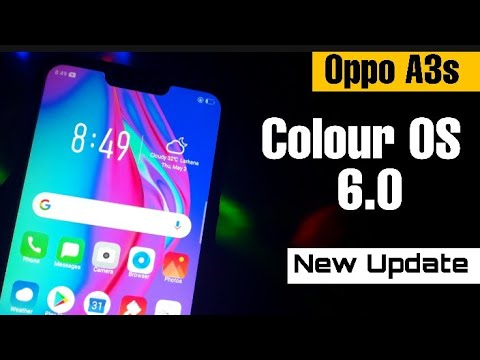 Oppo A3s Color OS 6   Use Color OS 6 0 On Oppo A3s   Color OS 6 0 Theme  Oppo   Najaf Technical Pk