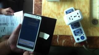 Smart Home Wi-Fi socket and plug operation