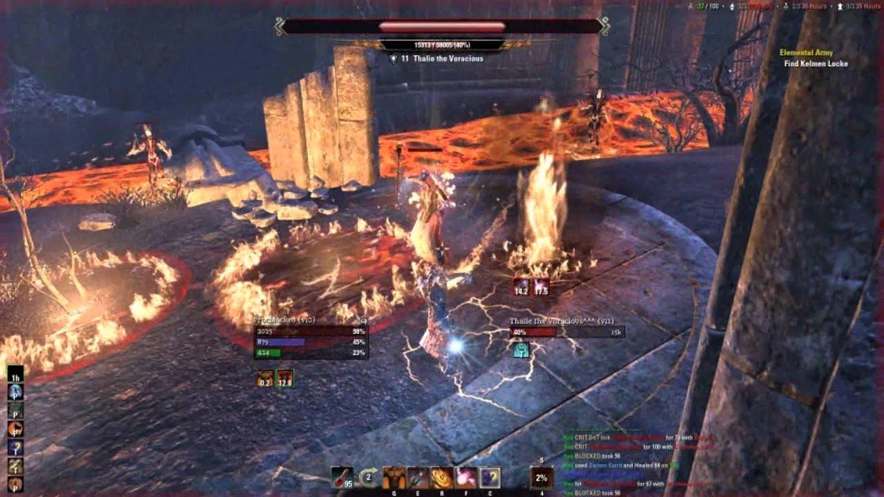 Dragonknight Solo Build Eso