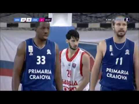 William Paul #11 Craiova vs Oradea  (Full Game) 2017
