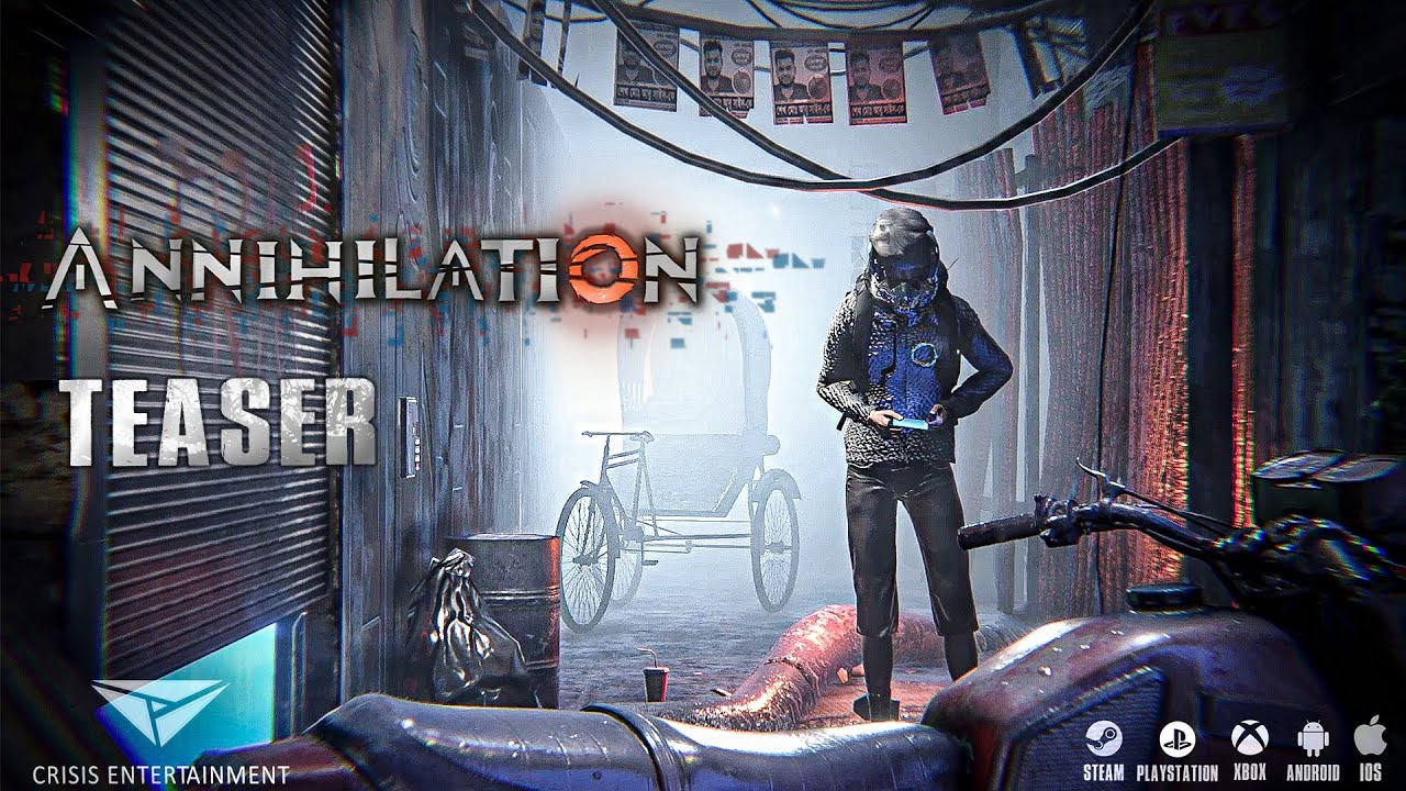 Annihilation Game Teaser | Crisis Entertainment | Steam | Android | IOS | Xbox | Playstation | FREE