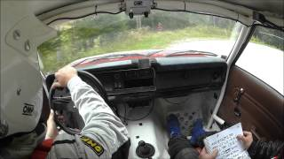 Austrian Rallye Legends powered by ARBÖ 2015, Gaston-Igor, Crash @sp1 Voderstoder