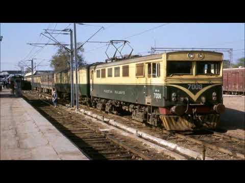 Pakistan Railway Electric Locomotive BCU-30s ||  Golden Era & Old Memories Of PR