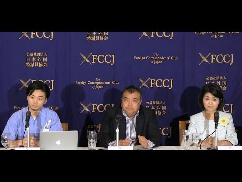 """Nakano, Nagao & Okuda: """"Civil Alliance for Peace and Constitutionalism"""" / deformed democracy by Abe"""