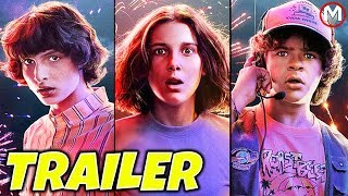 STRANGER THINGS Season 4 Teaser Trailer FULL BREAKDOWN (Netflix)