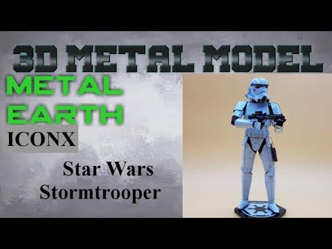 Metal Earth ICONX/Premium Series - Star Wars Stormtrooper