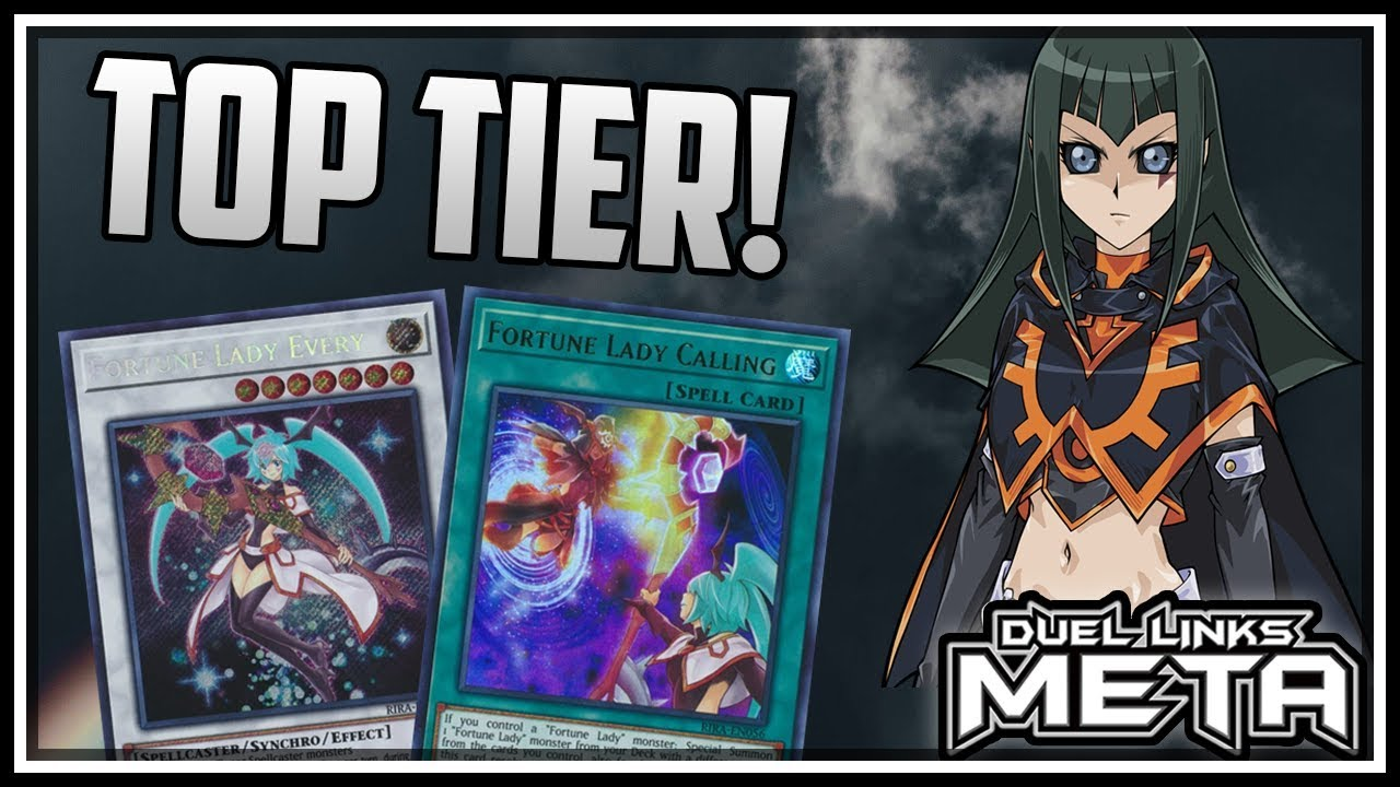NEW Fortune Lady Deck is TOP TIER! [Yu-Gi-Oh! Duel Links]