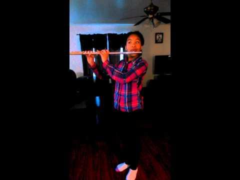 Tahirah flute solo(Colour My World)