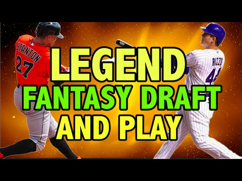 MLB THE SHOW 16 LEGEND PLAYER FANTASY DRAFT AND PLAY | ME VS MY BOSS