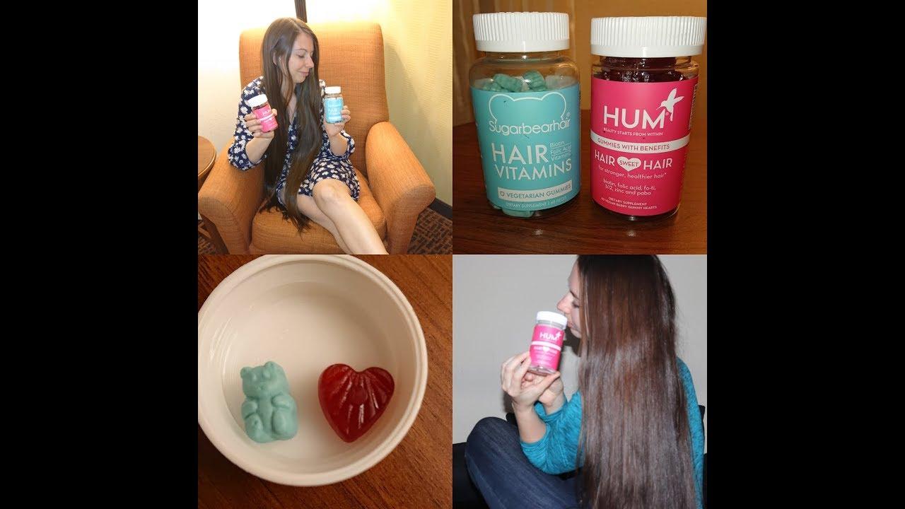 Sugarbear Hair Vs Hum Nutrition Hair Sweet Hair Gummies Review
