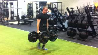 Warrington Based Primal Strength And Conditioning Training Facility - 230kg Farmers Walks