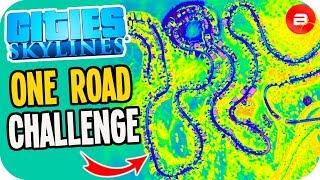 Planning a City with only One Road! (Cities: Skylines Challenge)