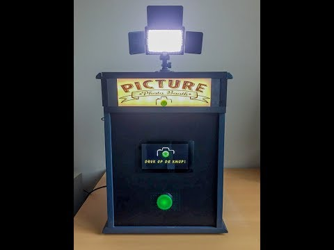DIY Photo Booth powered by a Raspberry PI