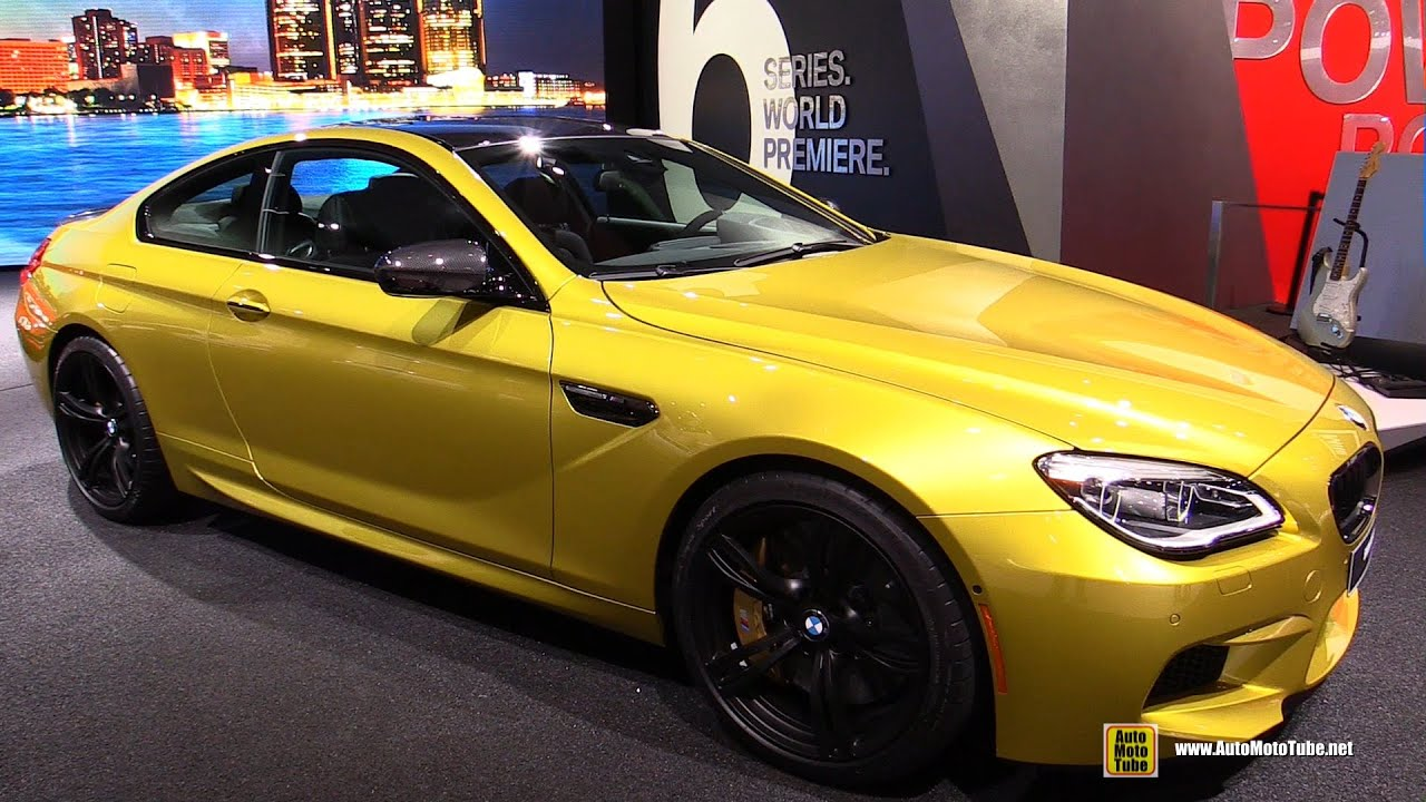 2016 bmw m6 coupe exterior and interior walkaround. Black Bedroom Furniture Sets. Home Design Ideas