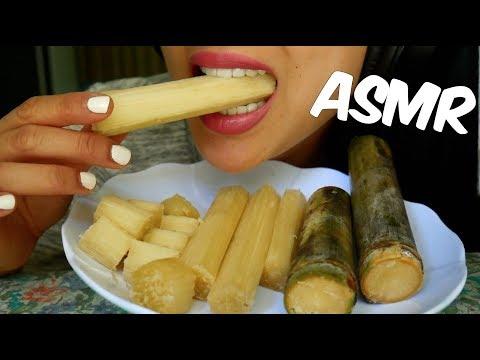 ASMR Sugarcane (Crunchy and Juicy EATING SOUNDS) | SAS-ASMR