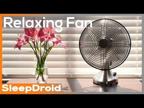 ► 4k Video (No Loop), Fan Sounds for Sleeping: Fan White Noise, ASMR Bedroom Fan Sound (not box fan)