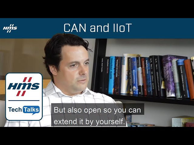 HMS TechTalk: CAN and IIoT