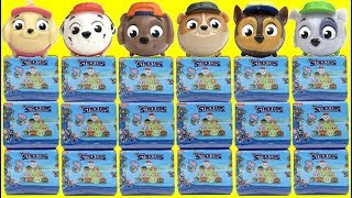 New PAW PATROL Stackems Mashems Squishy Toy Surprise Capsules