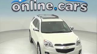 A96930GP Used 2015 Chevrolet Equinox LTZ AWD SUV White Test Drive, Review, For Sale