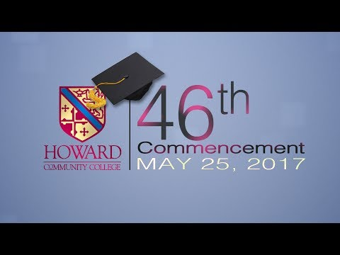 Howard Community College 2017 Commencement