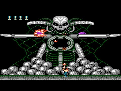 Super Contra Nes Dendy  Прохождение