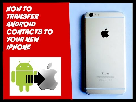 How to add your Google/android contacts to your new iPhone 6/iPhone 6plus with cardDav